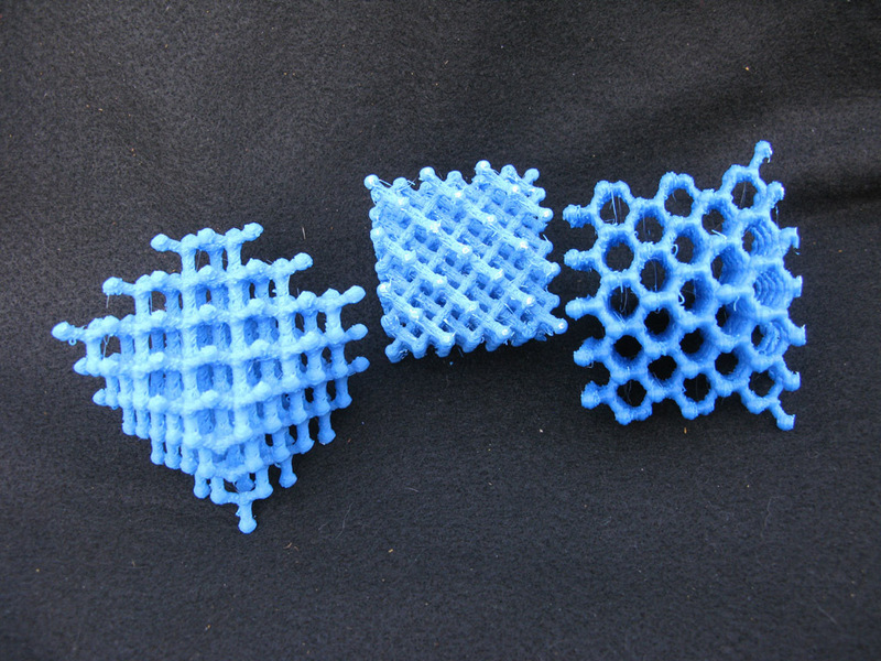 Qué imprimir en 3D? – Capítulo 3 – Entramado atómico | MADfab